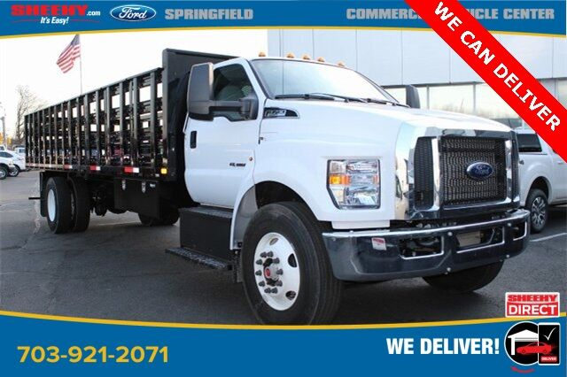2019 Ford F-750SD 2019 F750 REG CAB PL'S 26 FT FLAT BED STAKE BODY Springfield VA