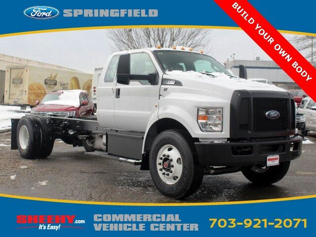 2019 Ford F-750SD F75E SUPER CAB DOCK HGT