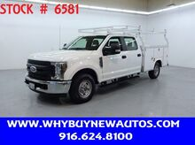 2019_Ford_F250_Utility ~ Crew Cab ~ Only 14K Miles!_ Rocklin CA