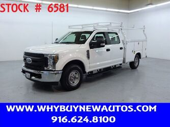 Ford F250 Utility ~ Crew Cab ~ Only 14K Miles! 2019