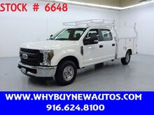 2019_Ford_F250_Utility ~ Crew Cab ~ Only 6K Miles!_ Rocklin CA