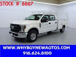 2019 Ford F250 Utility ~ Crew Cab ~ Only 8K Miles!