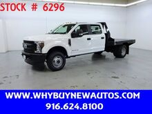 2019_Ford_F350_~ 4x4 ~ Diesel ~ Crew Cab ~ 9ft. Flat Bed ~ Only 4K Miles!_ Rocklin CA