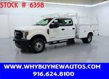 2019 Ford F350 Utility ~ 4x4 ~ Diesel ~ Crew Cab ~ Only 13K Miles!
