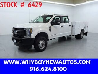 Ford F350 Utility ~ 4x4 ~ Diesel ~ Crew Cab ~ Only 43K Miles! 2019