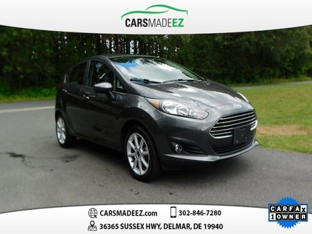 2019_Ford_Fiesta_SE_ Delmar DE