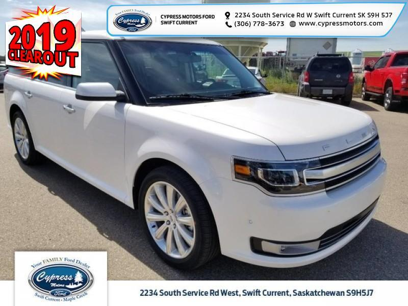 2019 Ford Flex Limited EcoBoost AWD  - Leather Seats - $416 B/W Swift Current SK