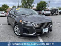 2019 Ford Fusion Hybrid SEL South Burlington VT