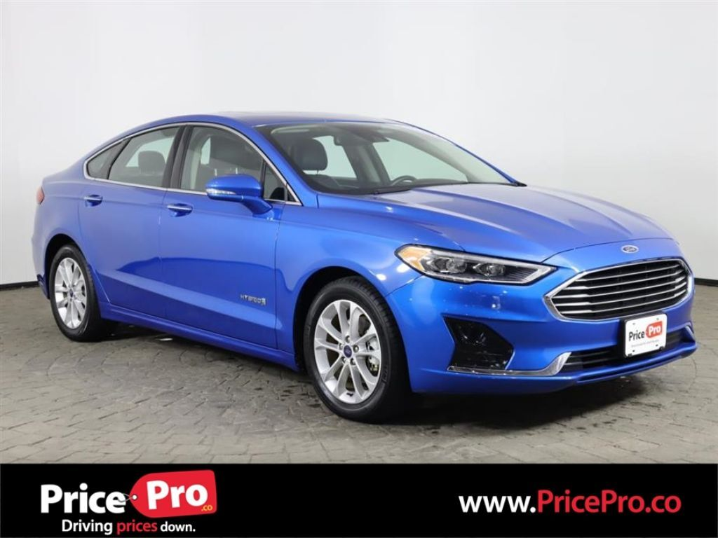 2019 Ford Fusion Hybrid SEL w/Nav/Heated Leather Maumee OH