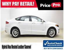 2019_Ford_Fusion Hybrid_SEL w/Navigation/Sunroof_ Maumee OH