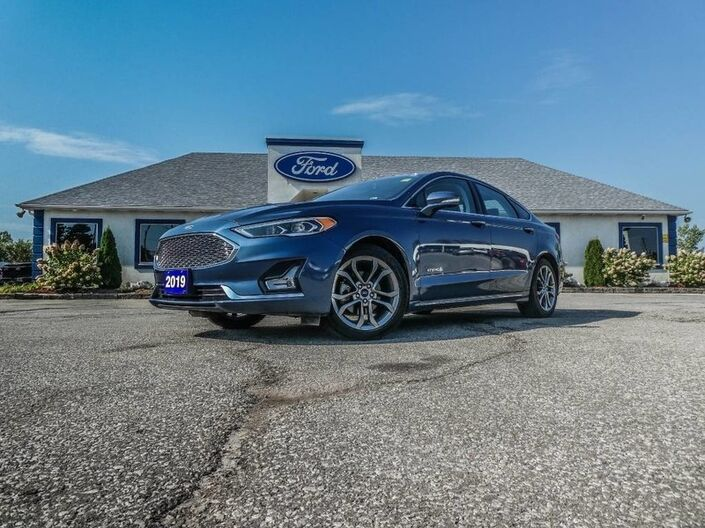 2019 Ford Fusion Hybrid Titanium- ADAPTIVE CRUISE- NAVIGATION- BLIS- LOADED Essex ON