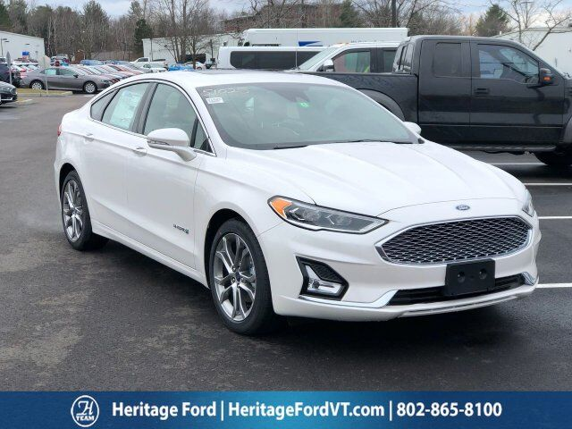 2019 Ford Fusion Hybrid Titanium South Burlington VT