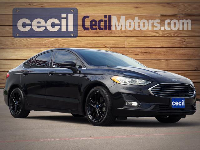 2019 Ford Fusion SE  TX