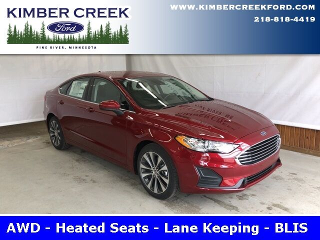 2019 Ford Fusion SE AWD Pine River MN