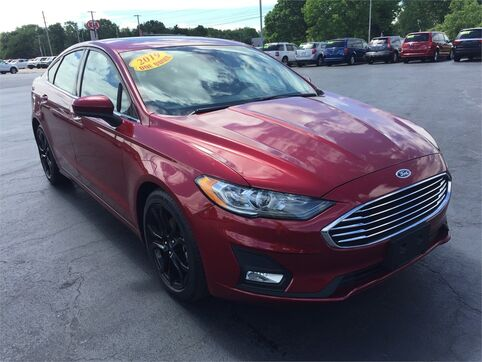 2019_Ford_Fusion_SE_ Evansville IN