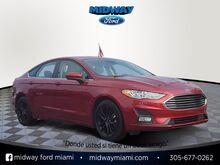 2019_Ford_Fusion_SE_ Miami FL