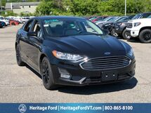 2019 Ford Fusion SE South Burlington VT
