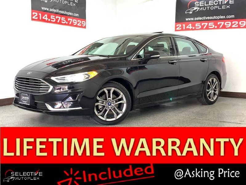 2019 Ford Fusion SEL, APPLE CARPLAY, REAR VIEW CAM, SUNROOF Carrollton TX