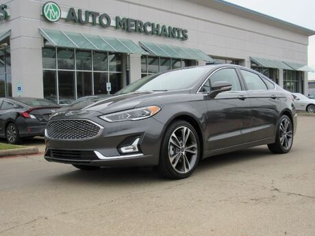 2019 Ford Fusion Titanium AWD ECOBOOST, NAVIGATION, LEATHER, SUNROOF, BLUETOOTH CONNECTIVITY, BACKUP CAMERA Plano TX