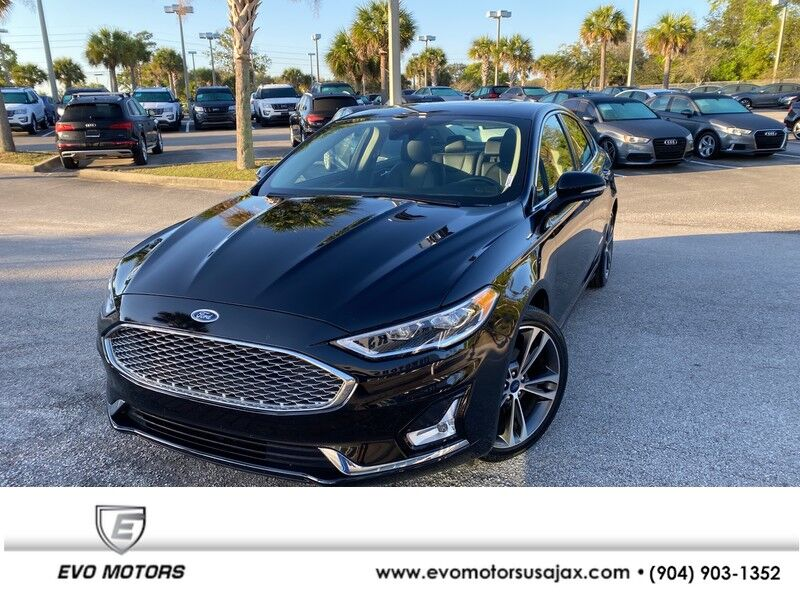 2019 Ford Fusion Titanium AWD W/ ROOF Jacksonville FL