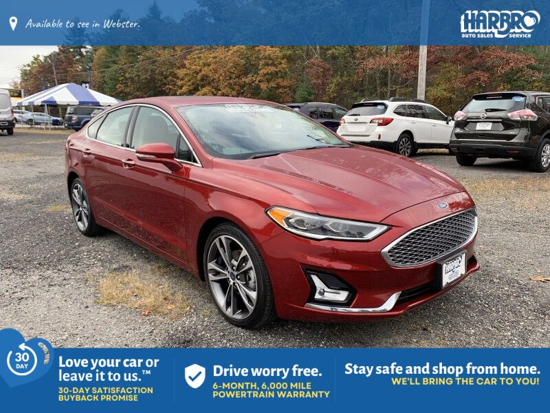 2019 Ford Fusion Titanium All Wheel Drive