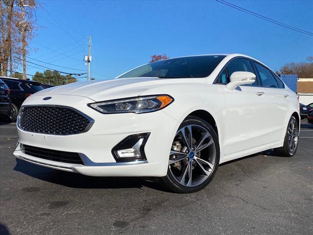 2019 Ford Fusion Titanium Raleigh NC