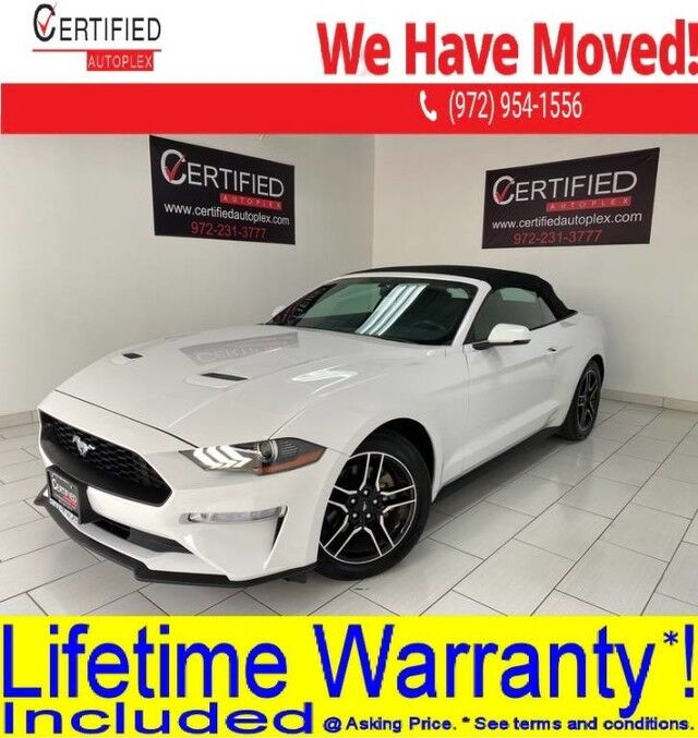 2019 Ford Mustang CONVERTIBLE HEATED COOLED LEATHER SEATS REAR CAMERA REAR PARKING Dallas TX