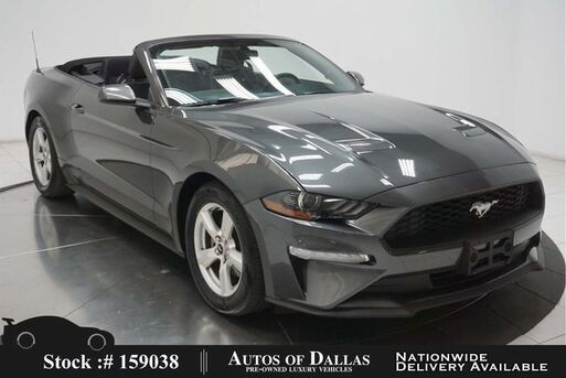 2019_Ford_Mustang_EcoBoost Convertible CAM,PARK ASST,KEY-GO,17IN WLS_ Plano TX
