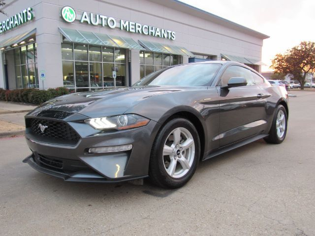 2019 Ford Mustang EcoBoost Coupe, BLUETOOTH, BACKUP CAMERA, PUSH BUTTON START Plano TX