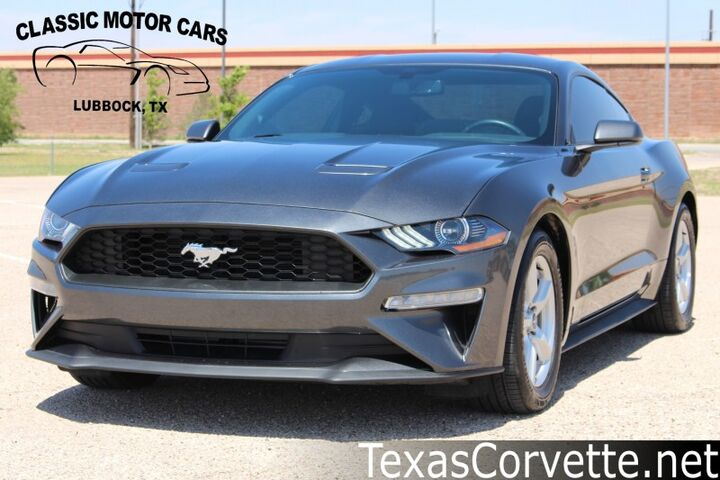 2019 Ford Mustang EcoBoost Lubbock TX