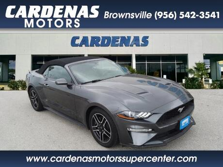 2019 Ford Mustang EcoBoost Premium Brownsville TX