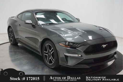 2019_Ford_Mustang_EcoBoost Premium CAM,CLMT STS,PARK ASST_ Plano TX