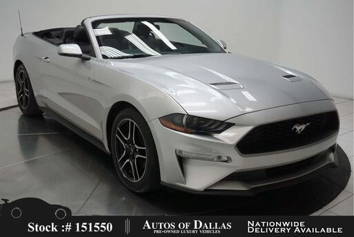 2019_Ford_Mustang_EcoBoost Premium Convertible CAM,CLMT STS_ Plano TX