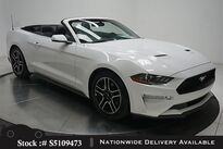 Ford Mustang EcoBoost Premium Convertible CAM,CLMT STS,PARK AST 2019