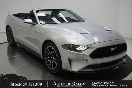 2019_Ford_Mustang_EcoBoost Premium Convertible CAM,CLMT STS,PARK AST_ Plano TX