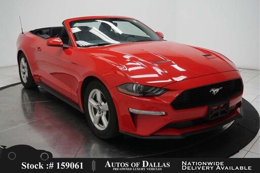 2019_Ford_Mustang_EcoBoost Premium Convertible CAM,KEY-GO,17IN WLS_ Plano TX