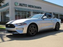 2019_Ford_Mustang_EcoBoost Premium Convertible LEATHER, HTD/CLD FRONT STS, KEYLESS START, BACKUP CAM, UNDER WARRANTY_ Plano TX