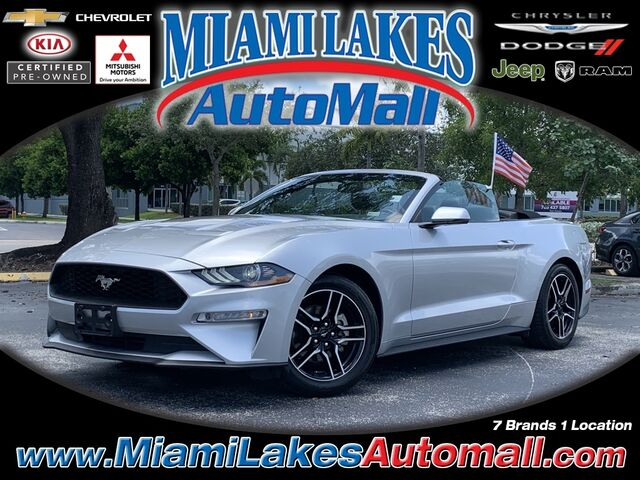 2019 Ford Mustang EcoBoost Premium Miami Lakes FL