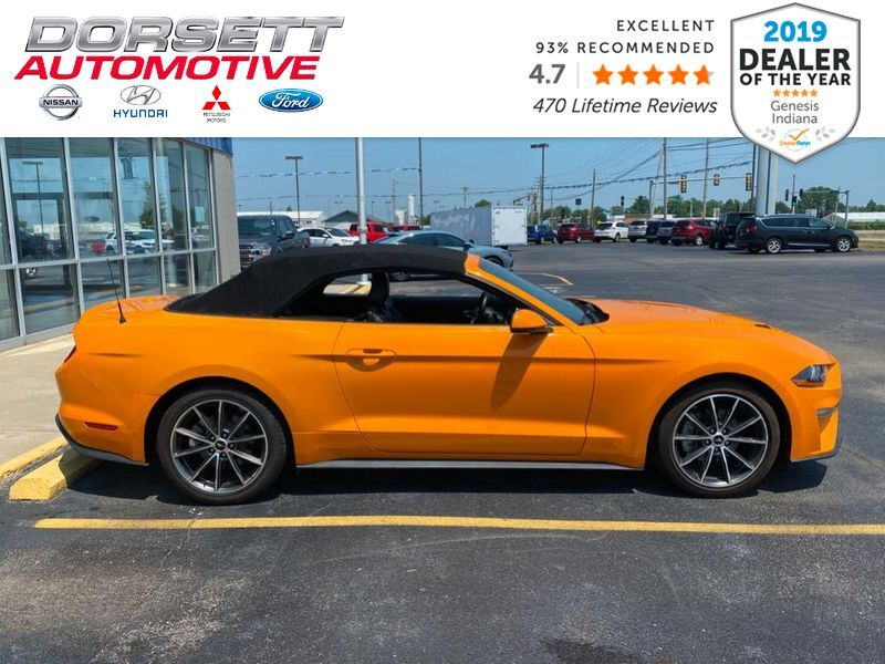 2019 Ford Mustang EcoBoost Premium Marshall IL