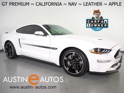 2019_Ford_Mustang GT Premium_*CALIFORNIA SPECIAL, 10-SPD, NAVIGATION, BACK-UP CAMERA, LEATHER, CLIMATE SEATS, KEYLESS ENRTY w/PUSH BUTTON START/STOP, 19 INCH WHEELS, BLUETOOTH, APPLE CARPLAY_ Round Rock TX