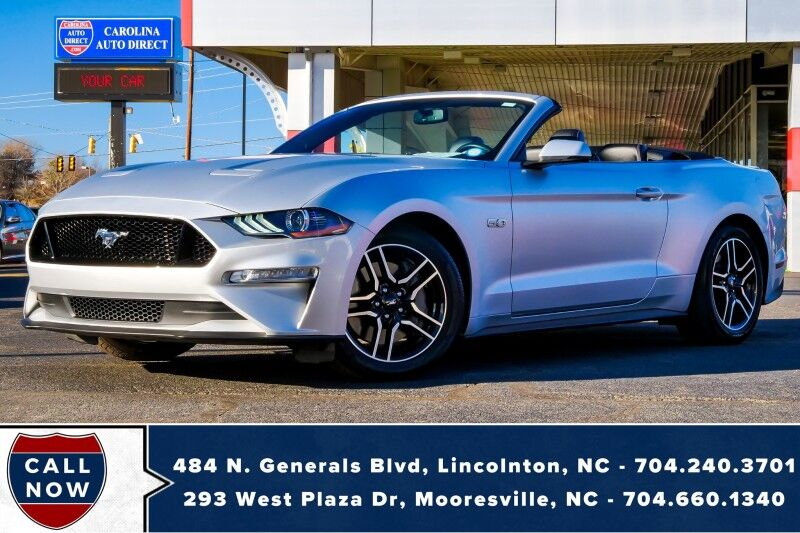 2019 Ford Mustang GT Premium w/ Heated & Vented Front Seats Mooresville NC