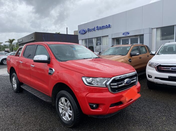 2019 Ford RANGER XLT 3.2L TURBO DIESEL 4WD 6-SPEED AUTOMATIC TRANSMISSION DOUBLE CAB 5 SEATER Vaitele