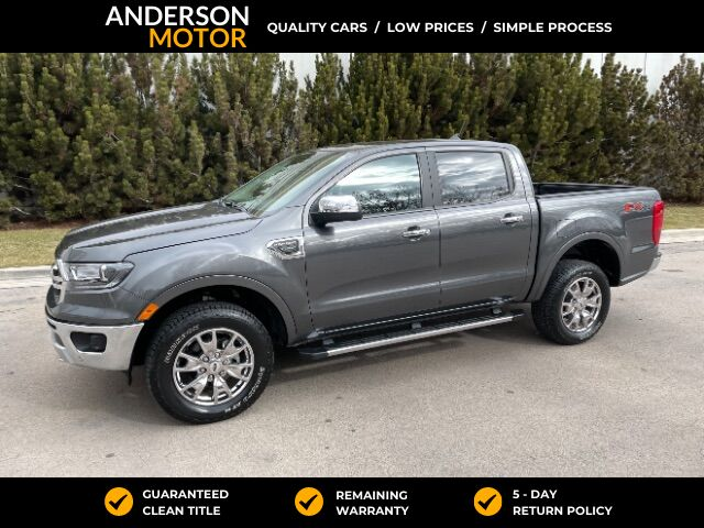2019 Ford Ranger Lariat SuperCrew 4WD Salt Lake City UT