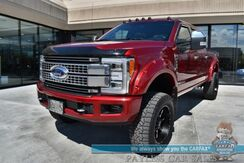 2019_Ford_Super Duty F-350_Platinum / Ultimate Pkg / FX4 / 4X4 / Power Stroke Diesel / Heated & Cooled Leather Seats / Navigation / Sunroof / B&O Speakers / Auto Start / Adaptive Cruise / Blind Spot & Lane Departure Alert / Tow Pkg_ Anchorage AK