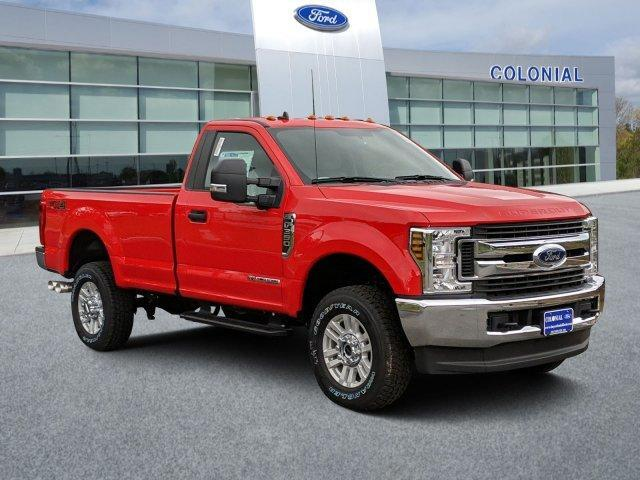 2019 Ford Super Duty F-350 SRW XL 4WD Reg Cab 8' Box Plymouth MA