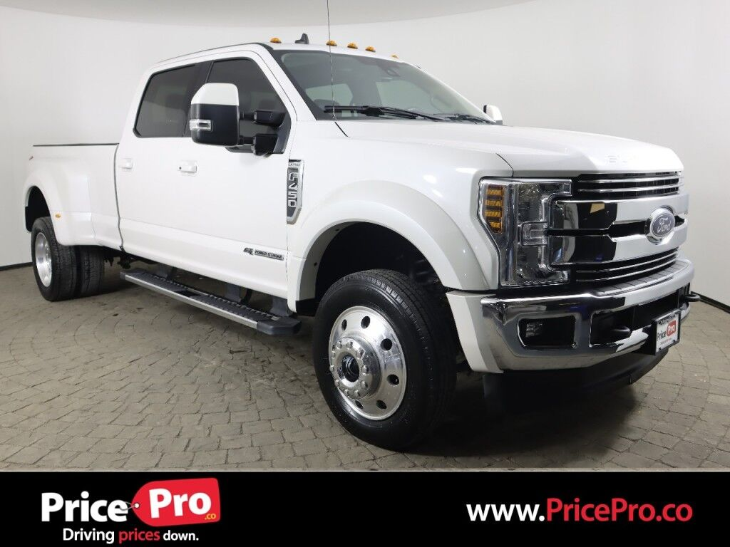 2019 Ford Super Duty F-450 DRW LARIAT Ultimate 4WD Crew Cab Diesel 8' Box Maumee OH