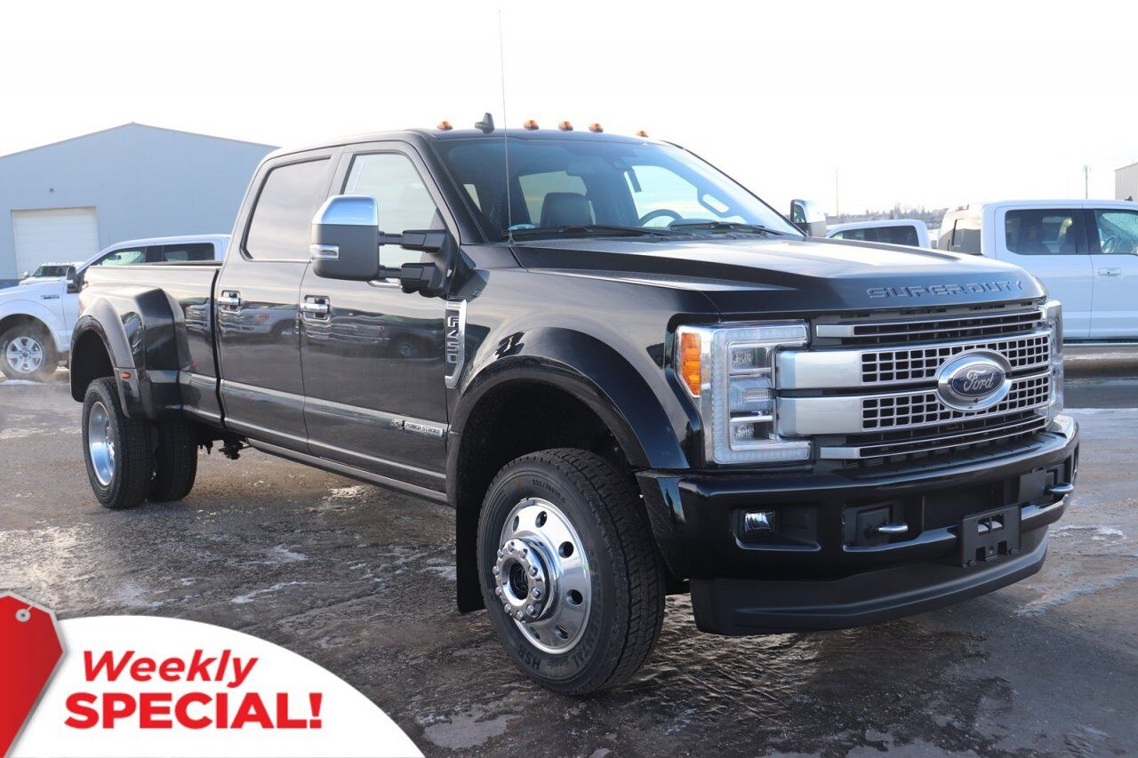 2019 Ford Super Duty F-450 DRW Platinum