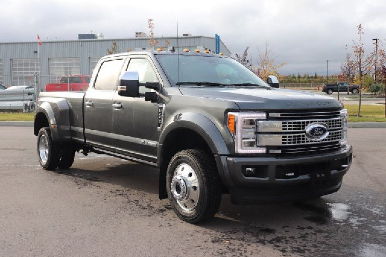 2019 Ford Super Duty F-450 DRW Platinum Sherwood Park AB