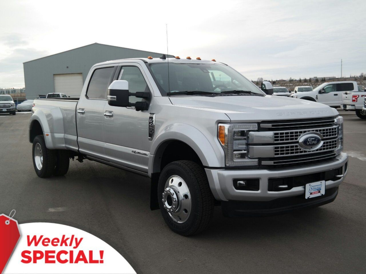 New 2019 Ford Super Duty F-450 DRW Platinum in Sherwood ...