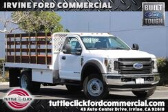 2019_Ford_Super Duty F-450 DRW_XL Scelzi 12' Stake Bed Diesel 4x4_ Irvine CA